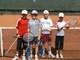 Galeria Otwarte Mistrzostwa Sieradza dla dzieci i młodzieży w tenisie o puchar Prezydenta Miasta 27-28.07.2011